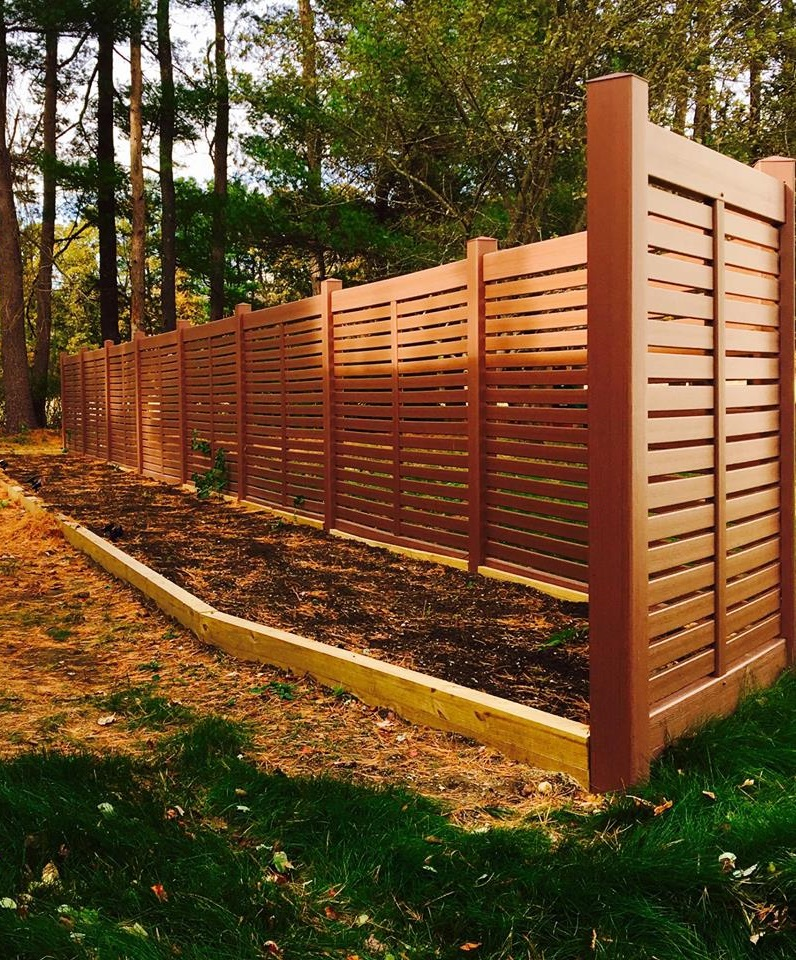 Pvc Vinyl Northern Fence